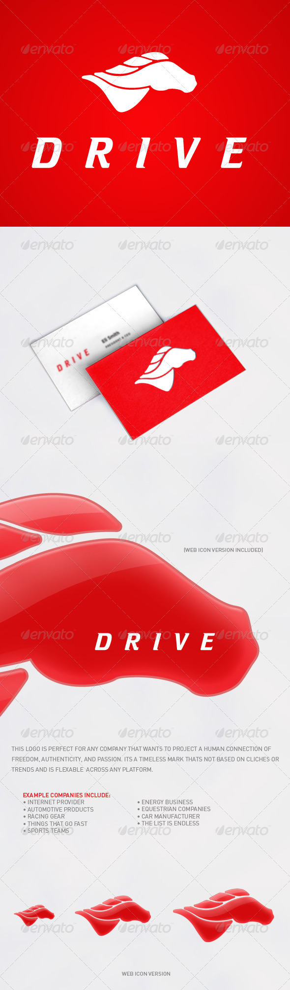 Drive - Animals Logo Templates