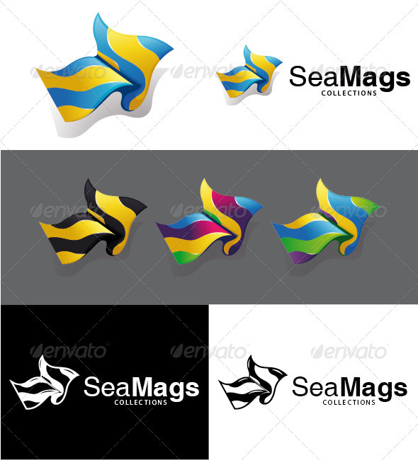 SeaMags Collections Logo - Objects Logo Templates