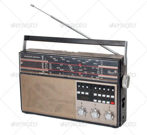 Old radio - Stock Photo - Images