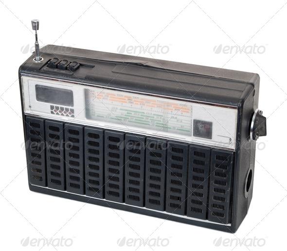 Old radio - Stock Photo - Images