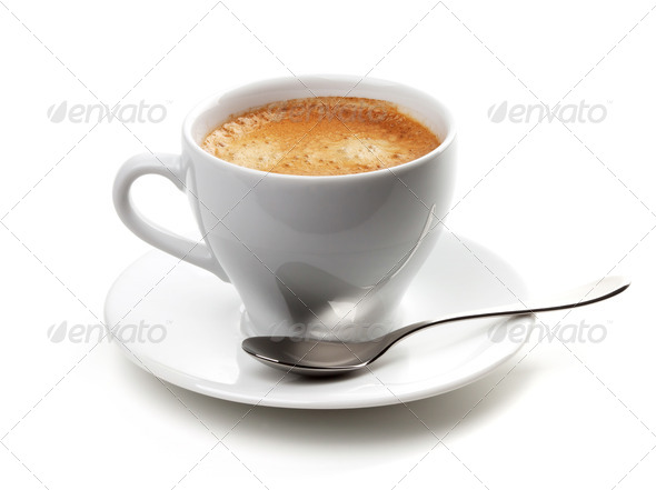 Cappuccino cup - Stock Photo - Images