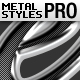 Metal Text Styles Pro - GraphicRiver Item for Sale