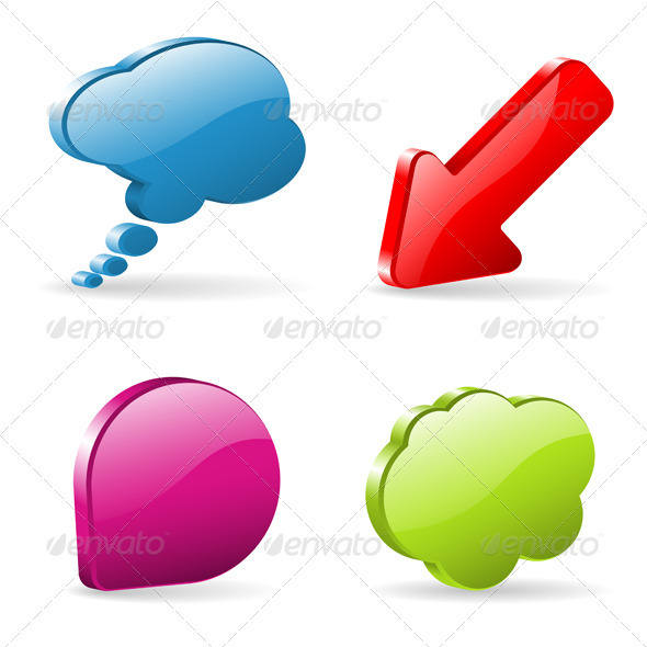 Speech Bubbles - Communications Technology