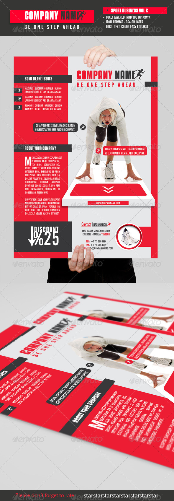Sport Business Flyer Vol 2 - Commerce Flyers
