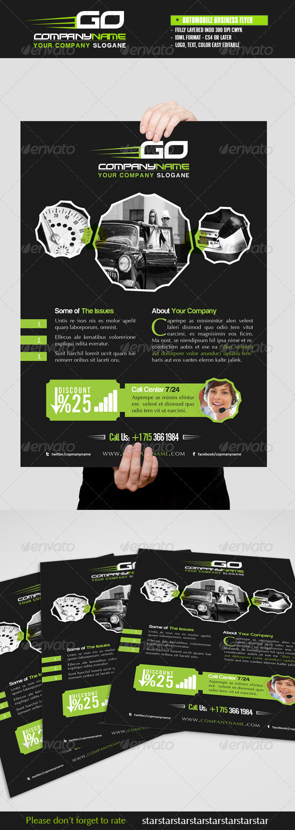Automobile Business Flyer - Corporate Flyers