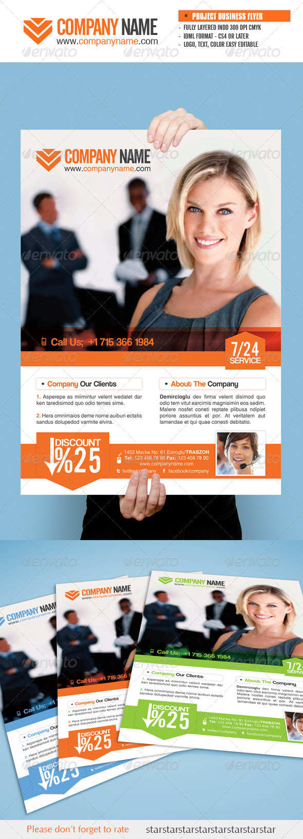 Project Business Flyer - Corporate Flyers