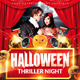 Halloween Thriller Night Party Flyer - GraphicRiver Item for Sale
