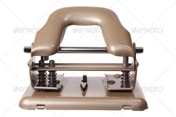 Paper Hole Puncher - Stock Photo - Images