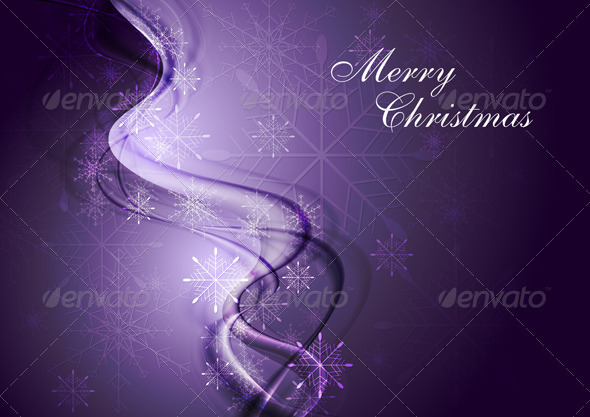 Abstract X-mas background. Vector illustration - Christmas Seasons/Holidays