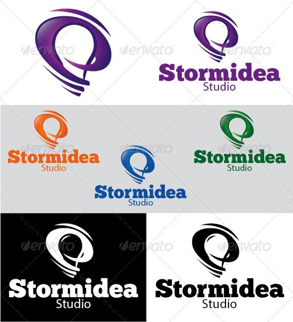 Stormidea Studio Logo - Symbols Logo Templates