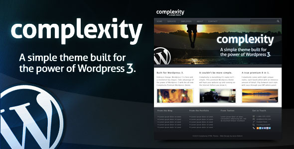 Complexity WordPress Theme