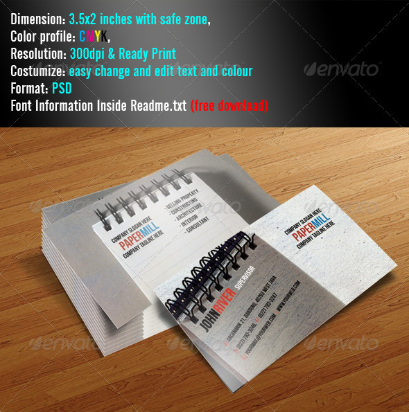 Paperize Grunge - Grunge Business Cards