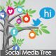 Social Media Tree - GraphicRiver Item for Sale