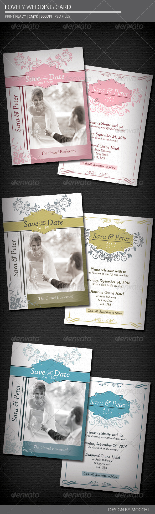 Lovely Wedding Card - Weddings Cards & Invites