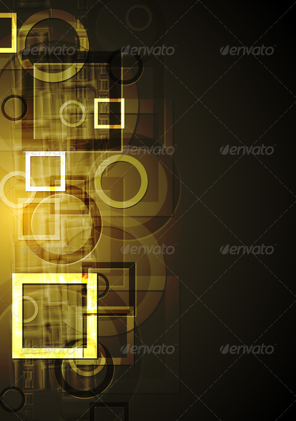 Abstract geometrical design. Vector background - Backgrounds Decorative