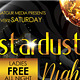 Stardust Nights Party Flyer - GraphicRiver Item for Sale