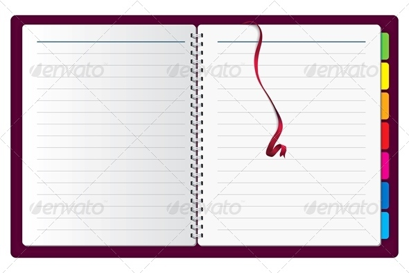 Vector Spiral Notepad  - Objects Vectors