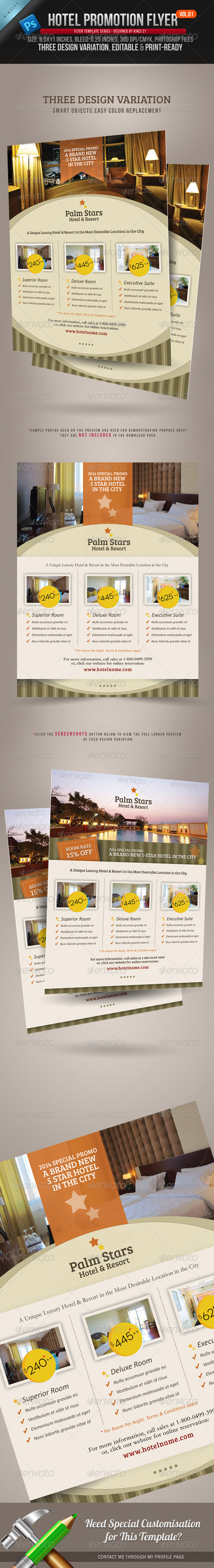 Hotel Promotion Flyer Vol.01 - Corporate Flyers