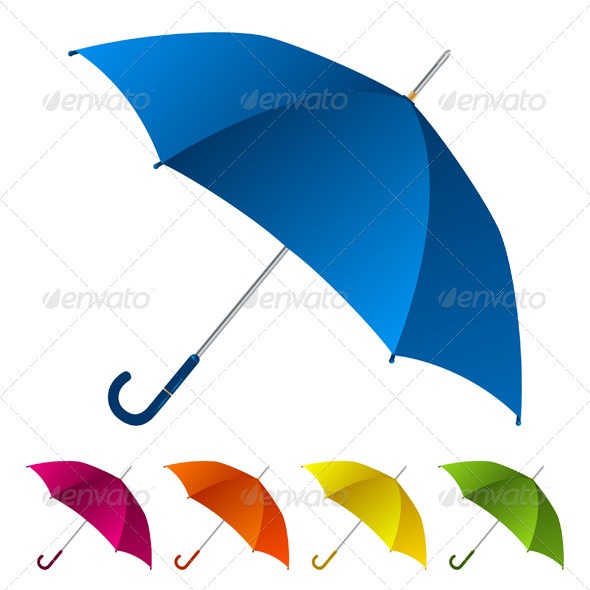 Colorful umbrellas collection - Man-made Objects Objects