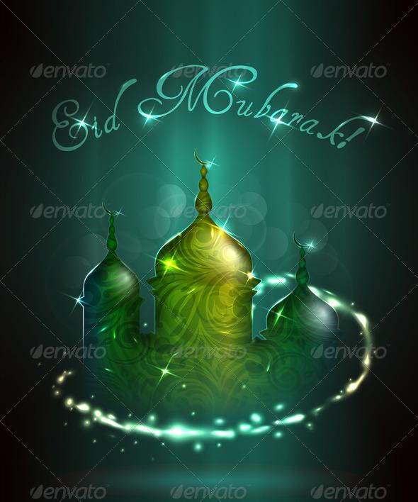 Eid Mubarak - Religion Conceptual