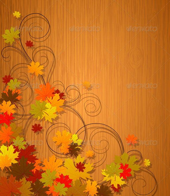 Autumn background - Seasons/Holidays Conceptual