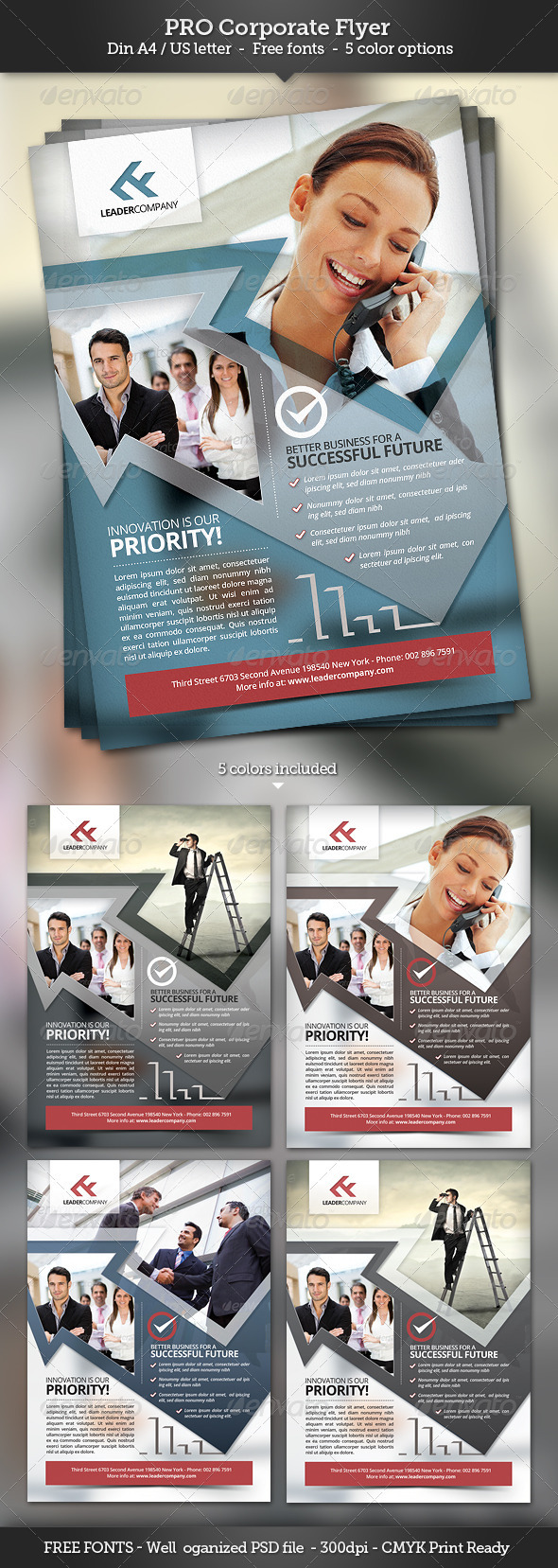 Pro Corporate Flyer Template - Corporate Flyers