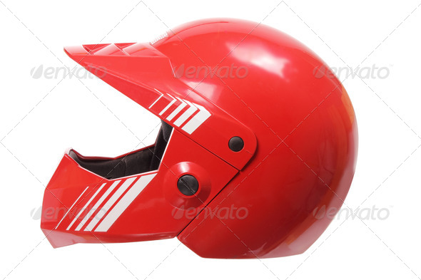 Racing Helmet - Stock Photo - Images