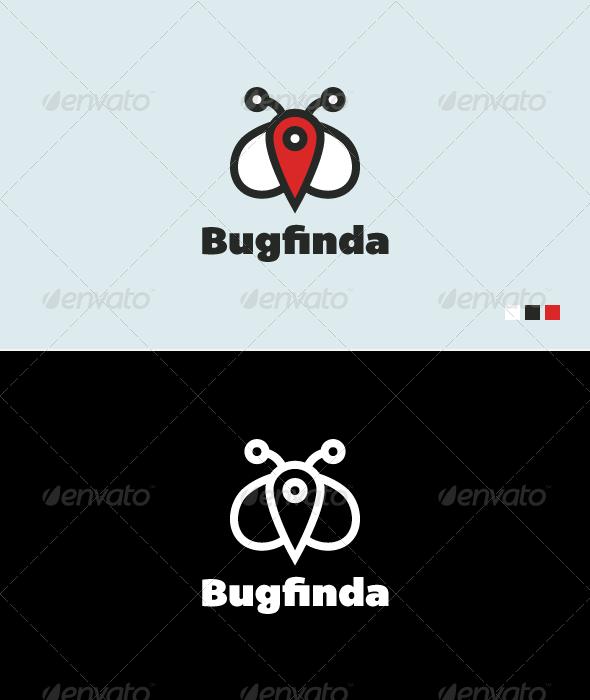 Bugfinda - Logo Template - Animals Logo Templates