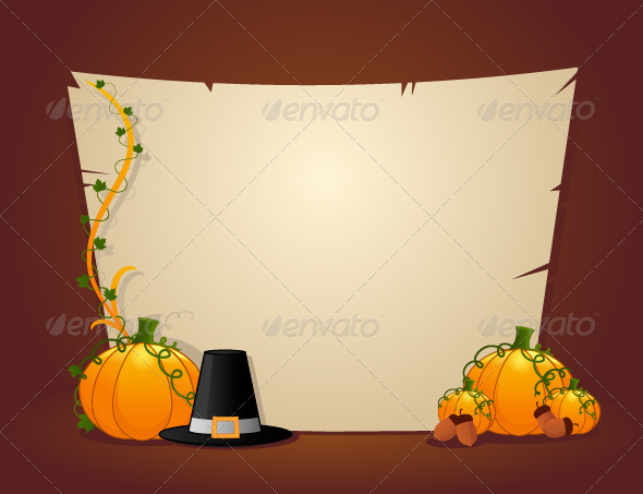 Thanksgiving Card - Halloween Seasons/Holidays