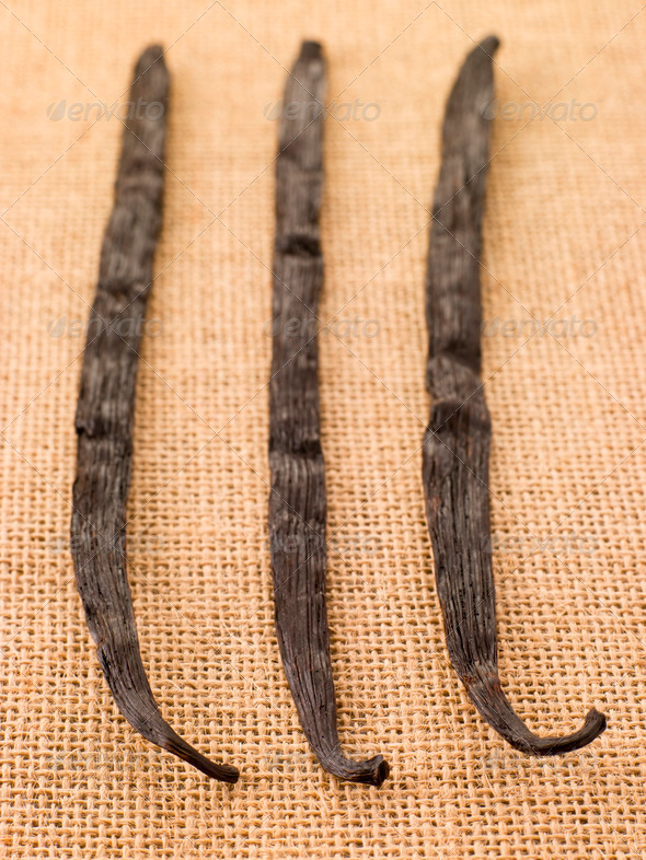 Vanilla Pods - Stock Photo - Images