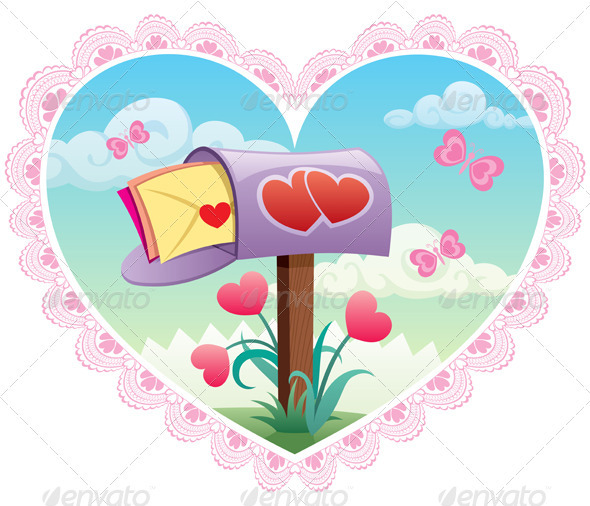 Love Mail - Valentines Seasons/Holidays