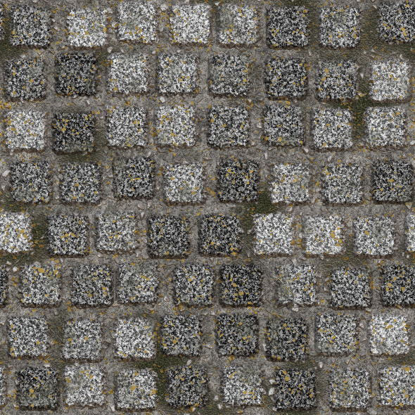 Granite Pavement 1 - 3DOcean Item for Sale