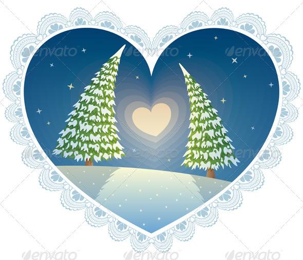 Love Trees - Valentines Seasons/Holidays