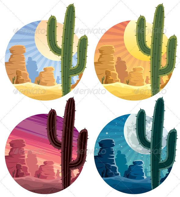 Mexican Desert - Landscapes Nature
