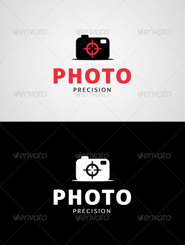 Photo Precision Logo Template - Objects Logo Templates
