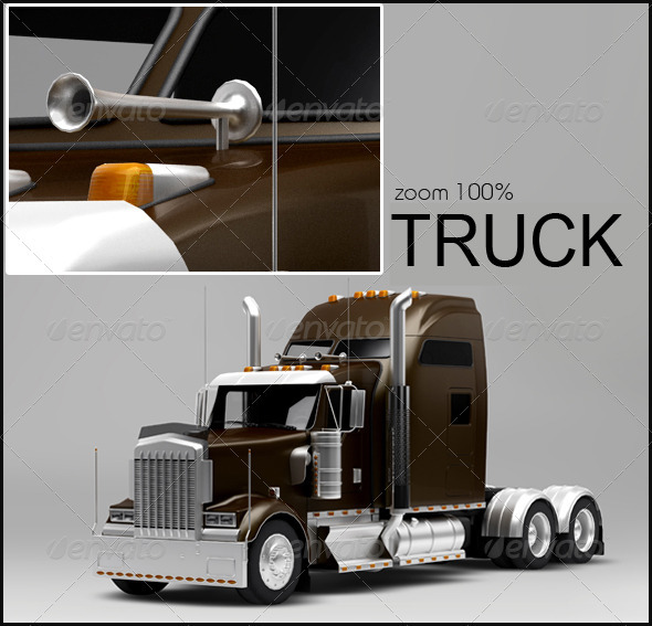 Truck - Miscellaneous 3D Renders