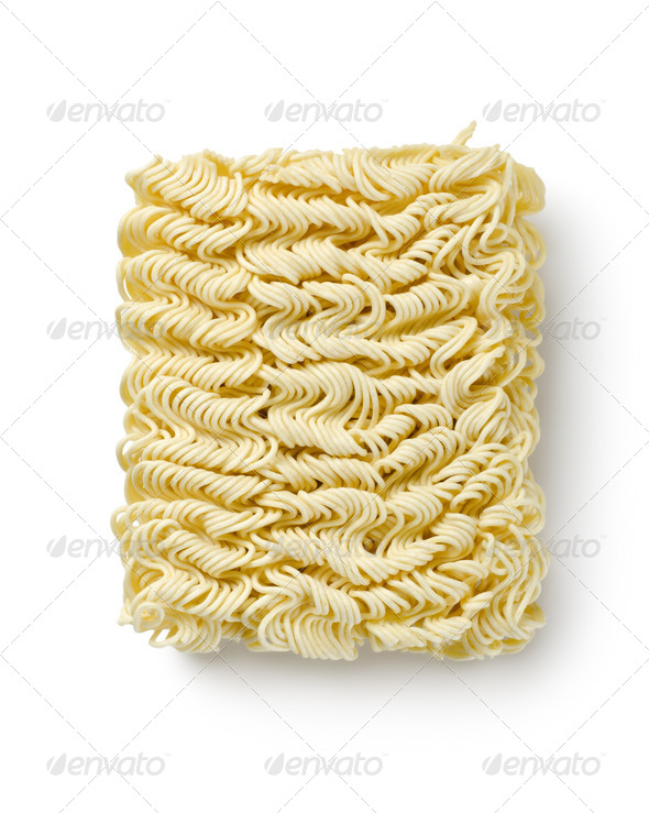 Noodles of fast preparation - Stock Photo - Images