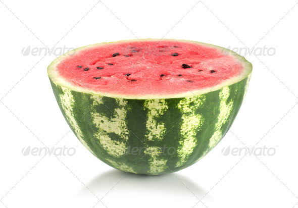 Fresh and ripe watermelon - Stock Photo - Images