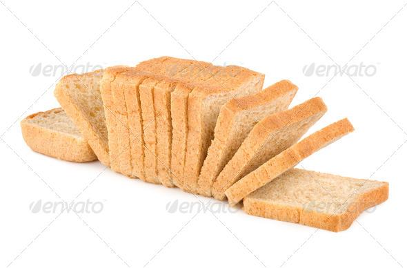 Fresh white bread - Stock Photo - Images