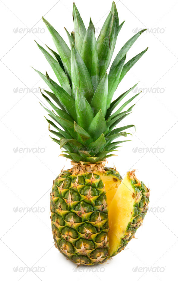 Tropical fruit pineapple - Stock Photo - Images