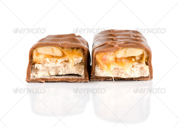 Two chocolates - Stock Photo - Images