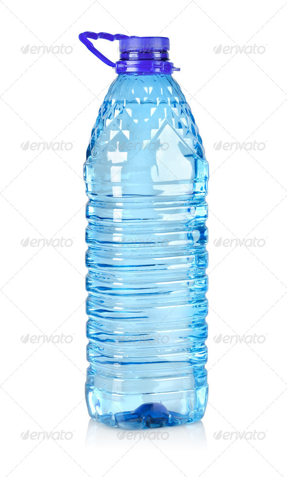 Big bottle of water isolated - Stock Photo - Images