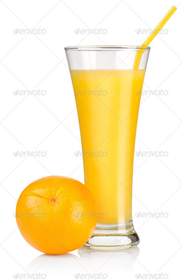 Juice and fruit - Stock Photo - Images