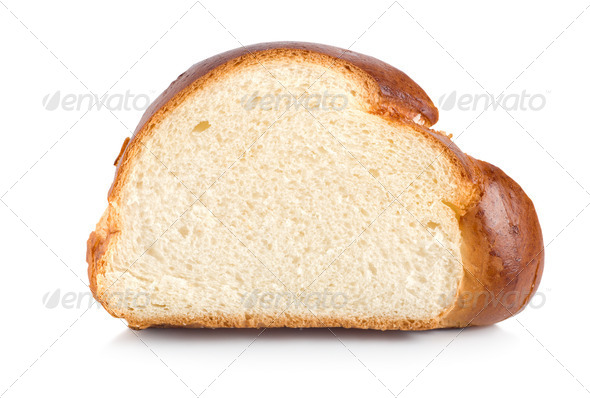 Sweet bread isolated - Stock Photo - Images