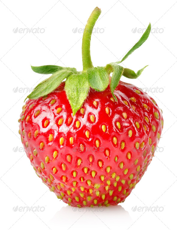 Ripe strawberries - Stock Photo - Images