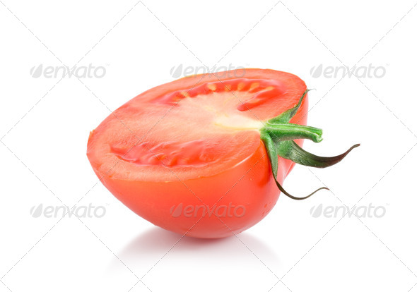 One red tomato - Stock Photo - Images