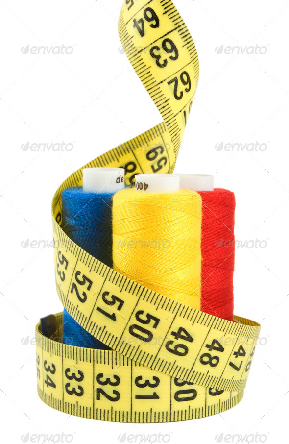 Tailor materials - Stock Photo - Images