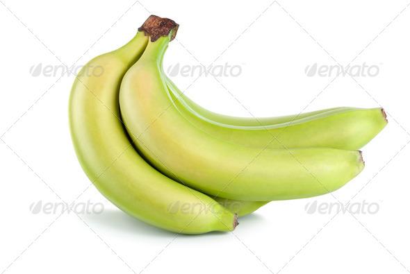 Green bananas - Stock Photo - Images