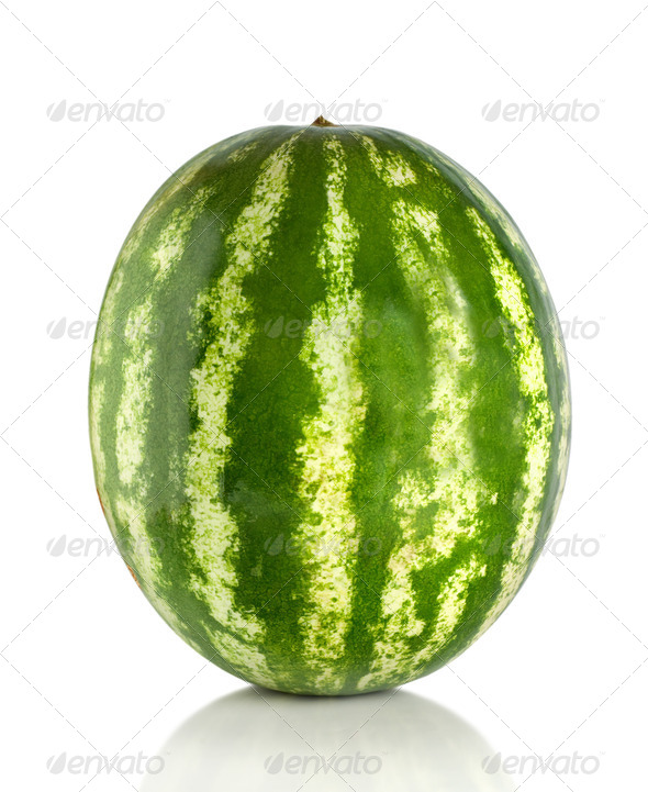 Watermelon isolated - Stock Photo - Images