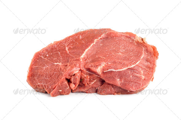 Fillet of raw meat - Stock Photo - Images